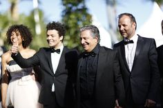 Kev Adams, Christian Clavier et Pef © Ville de Cannes 2013 - Traverso