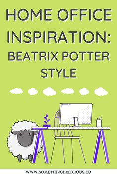Do you yearn for a cosy spot to work and create? We may not all be able to tuck into a farmhouse in the Lake District, but we can still invite nature's infinite charms into our workspace, be it a small home office or a portable set-up. Inspired by Beatrix Potter's love of nature, as well as her glorious illustrated letters, these ideas make for a delightful, nurturing spot to create whatever your heart desires. Nature Study, Beatrix Potter, You're Awesome, Quote Prints, Home Office, Writer, Lettering, Lake District, Create
