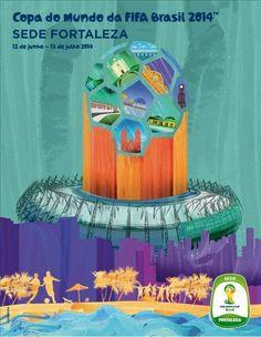 Brasil 2014: Cartazes das cidades sedes da Copa divulgados