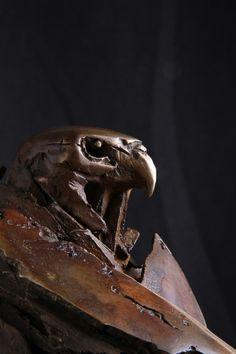 Unique Bronze Bannister, Bronze Sculpture, New Zealand, Sculptures, Unique, Artist, Animals, Animales, Animaux