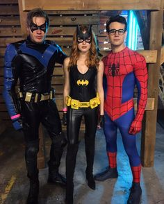 Shadowhunters ... Dominic Sherwood, Katherine McNamara and Alberto Rosende ... Halloween Costumes