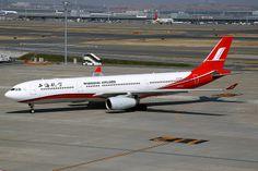 Shanghai Airlines, Airbus A330-300, B-6096, Tokyo Haneda