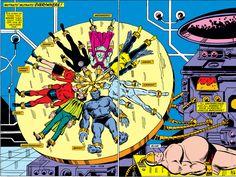X Men, Sal Buscema, Marvel Universe, Empire, Comics, Design, Art, Art Background, Univers Marvel