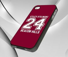 Teen Wolf STILINSKI lacrosse jersey for iPhone 5 case | whidcases - Accessories on ArtFire