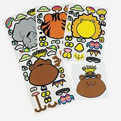 make an animal stickers