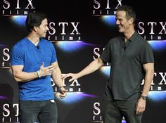 Mark Wahlberg Photos - Actor Mark Wahlberg (L) and director Peter Berg onstage during CinemaCon 2018 STXfilms Invites You to an Evening Featuring A Sneak Preview of Their Feature Films? at The Colosseum at Caesars Palace during CinemaCon, the official convention of the National Association of Theatre Owners, on April 24, 2018 in Las Vegas, Nevada. - CinemaCon 2018 - CinemaCon 2018 STXfilms Invites You To A Sneak Preview of their Future Films