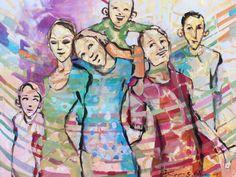 Min familie fra utstillingen HEL 2014