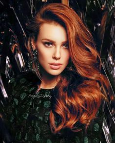Turkish Women Beautiful, Elcin Sangu, Red Hair, Redheads, Actresses, Celebrities, Hair Styles, Model, Type