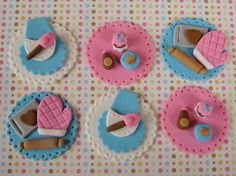 Retro Baking Cupcake Toppers | Flickr - Photo Sharing!