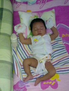 Baby ryu.. 1 bulan. :)  miss his baby time
