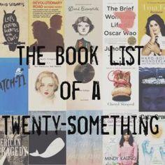 The Book List of a Twenty Something