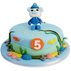 Octonauts cake - possible for stan octonaut party