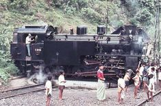The West Sumatra Coal Railway, Indonesia, August 1973 New York From Above, Railway Museum, Rolling Stock, Old Pictures, Locomotive, Military Vehicles, Countryside, Indie, Minions