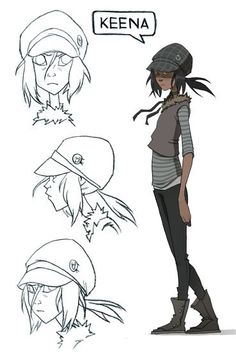 ✤ || CHARACTER DESIGN REFERENCES | well that's the first time I've seen my name on anything.. .