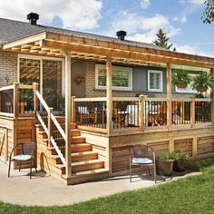 Rallonge trois saisons pour le patio - Patio - Inspirations - Jardinage et extérieur - Pratico Pratique