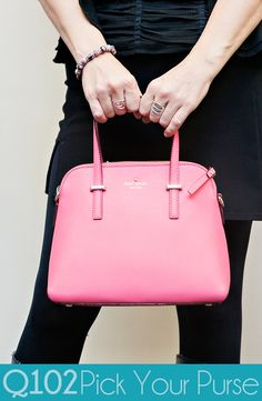 Kate Spade - Cedar Street Carbarepink. Go to wkrq.com to find out how to play Q102's Pick Your Purse!