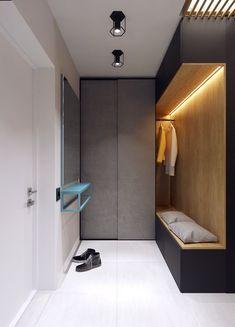 3 Апартаменты студии Под 50sqm Для города обитающие Пары (включая планы этаж)