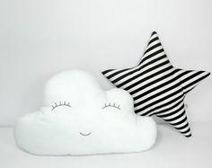 Kit Almofada Nuvem e Estrela