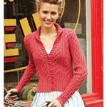 Cabled Cardigan. Vogue Knitting. Lovely color!