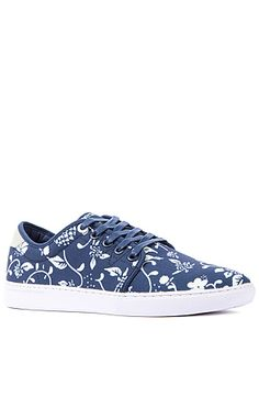 The Edmond Sneaker in Dark Sapphire Pattern by WeSC