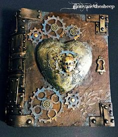 Ginny and the sheep: My Steampunk Art Journal...