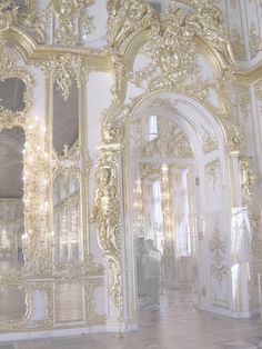 White and gold architecture Angel Aesthetic, Gold Aesthetic, Classy Aesthetic, Aesthetic Vintage, Makeup Aesthetic, Baroque Architecture, Beautiful Architecture, Architecture Panel, Drawing Architecture