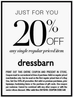 image regarding Dress Barn Coupon Printable named 99 Ideal Printable Discount coupons February shots inside of 2015 Baskin