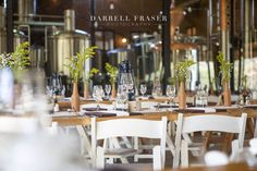 Roxy and Wickus's Black Horse Brewery Wedding Brewery Wedding, South African Weddings, Distillery, Roxy, Portrait Photographers, Wedding Photography, Horses, Table Decorations, Bride