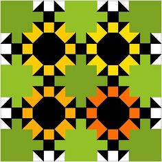This blog post shows lots of hidden designs within a design in a quilt when using 2 or more blocks and specific color placement.