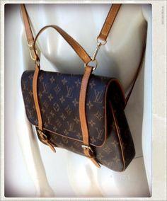 fe5a2d878e3b Sac Cartable LOUIS VUITTON - Carlita Vintage Shop - Boutique en ligne de  Mode Vintage