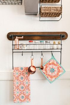 Storage Display Ideas For Small Spaces | Kitchen racks, Copper ... on kitchen and bathroom design ideas, kitchen and living room ideas, kitchen and dining table ideas, kitchen and eating area ideas, kitchen and backsplash ideas, kitchen and dining area ideas, kitchen and den ideas, kitchen and pool ideas, kitchen and countertop ideas,