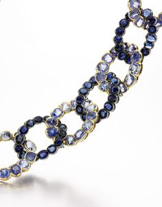 Sapphire bracelet, Cartier and once owned by the Duchess of Windsor.
