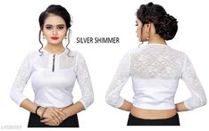 Blouses Myra Alluring Women Blouse Fabric: Lycra Sleeve Length: Long Sleeves Pattern: Checked Multipack: 1 Sizes: Free Size (Bust Size: 38 in Length Size: 15 in Waist Size: 30 in Hip Size: 30 in Shoulder Size: 30 in) Country of Origin: India Sizes Available: Free Size   Catalog Rating: ★4 (305)  Catalog Name: Myra Alluring Women Readymade Blouse CatalogID_836242 C74-SC1007 Code: 172-5588587-834