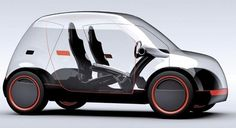 A concept car without any concept of privacy.