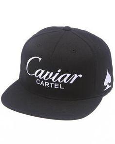 SSUR | Caviar script snapback cap. Get it at DrJays.com