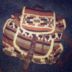 BRAND NEW Tribal Print Backpack Small backpack with adjustable straps and brand new! Bags Backpacks