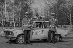 PL - Milicja Police Vehicles, Emergency Vehicles, Police Cars, Historian, Cops, Fiat, Cars And Motorcycles, World War, Military