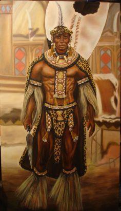 Shaka Zulú // Jefe tribal zulú que a principios del siglo XIX inició un proceso que transformó a la pequeña tribu zulú en la nación guerrera más poderosa de África que se enfrentó con éxito al avance del Imperio británico desde el Cabo de Buena Esperanza.