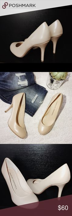NEW W/ BOX CHINESE LAUNDRY NUEDE PUMPS HEELS 7 BRAND NEW WITH BOX! Size 7.  Nude color. Pumps / Heels. Super sexy and professional at the same time! Weekend hangouts, date nights or of course for work! 💕💥 Chinese Laundry Shoes Heels