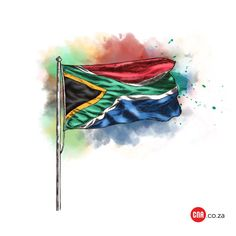 Afrikaans, Badges, South Africa, Flag, Abstract, Artwork, Beautiful, Summary, Work Of Art