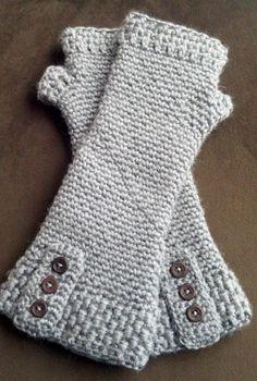 Crochet fingerless gloves - winter gloves - multiple color choices.