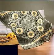 sunflower crochet afghan - Bing Images
