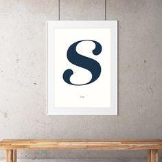 S in lust hanging #typography http://ift.tt/1T83aMx #maze #mickallan #artwork #print #typographyart #mazeart