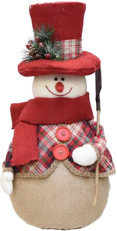 Felices Pascuas Collection inch Red and Brown Plaid Snowman with Shovel Scarf and Top Hat Table Top Christmas Figure Pallet Christmas, Burlap Christmas, Diy Christmas Ornaments, Christmas Balls, Christmas Stockings, Christmas Crafts, Silver Christmas Decorations, Snowman Decorations, Christmas Centerpieces