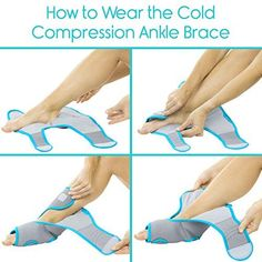 Vive Ankle Ice Pack Wrap Foot Cold / Hot Compression Brace Adjustable Freeze Support For Cooling / Heating Achilles Injuries Tendonitis Plantar Fasciitis Sore Feet Inflammation Muscle Sprain * Be sure to check out this awesome product.-It is an affiliate link to Amazon. Sore Feet, Ice Pack, Sprain, Plantar Fasciitis, Achilles, Heating And Cooling, Braces, Freeze, Muscle