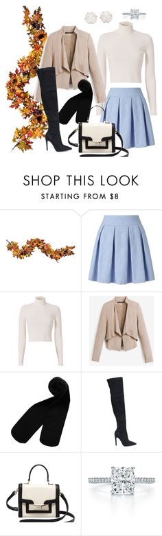 """""""F*R*I*E*N*D*S"""" by turkishlove ❤ liked on Polyvore featuring Improvements, Miss Selfridge, A.L.C., White House Black Market, Monki, Kendall + Kylie, Kate Spade, Tiffany & Co. and Chanel"""