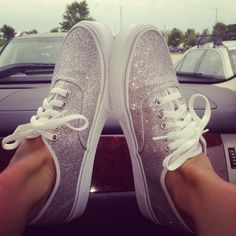 Have these love them!!! Get compliments all the time.  vans-shoes/ Glitter vans!