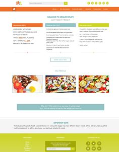New website at menusforlife.com now live - lots more healthy menus all within UK dietary guidelines with more being added all the time. Weight Loss Eating Plan, Easy Weight Loss, Free Meal Plans, Healthy Menu, Mediterranean Style, Everyday Food, Eating Plans, Health And Nutrition, Free Food