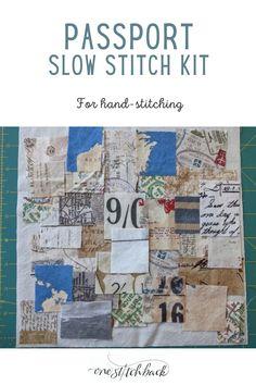 Passport Slow Stitch Kit