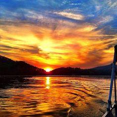 Lake Allatoona #sunset.